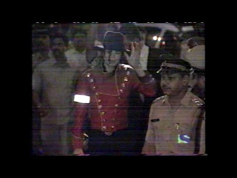 Michael Jackson HIStory Tour TV coverage 1996 [Mumbai, India