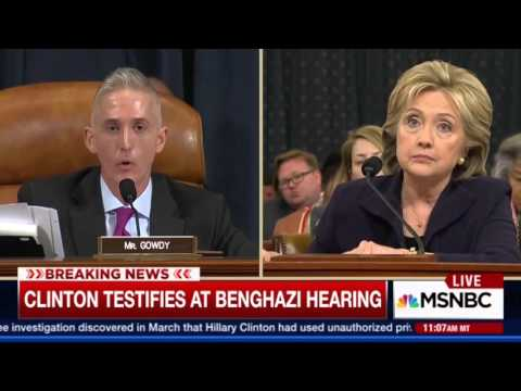 Rep. Gowdy Tears Into Clinton Before The Break | TheBlaze