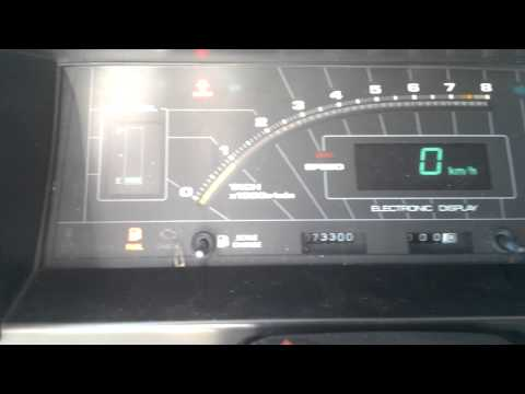 Rongfk ae86 digital cluster dash fully functional