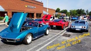 Cars & Coffee - Clayton, NC 6-16-18