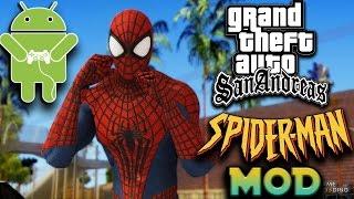 GTA SA Android Spiderman Mod (With Powers)