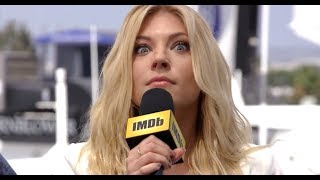 Katheryn Winnick Shows Off Her Superpowers | IMDb EXCLUSIVE