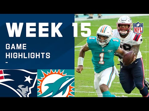 Patriots vs. Dolphins Week 15 Highlights   NFL 2020