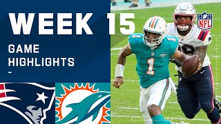 Patriots vs. Dolphins Week 15 Highlights