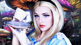 ALICE IN WONDERLAND | Halloween Makeup Tutorial | Cherry Wallis
