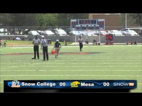 SC Football vs. Mesa CC.