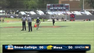 SC Football Vs Mesa CC