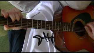 Видео разбор песен под гитару - Любэ - Березы.MTS(http://megaosa.ru - Видео разбор песни под гитару - Любэ