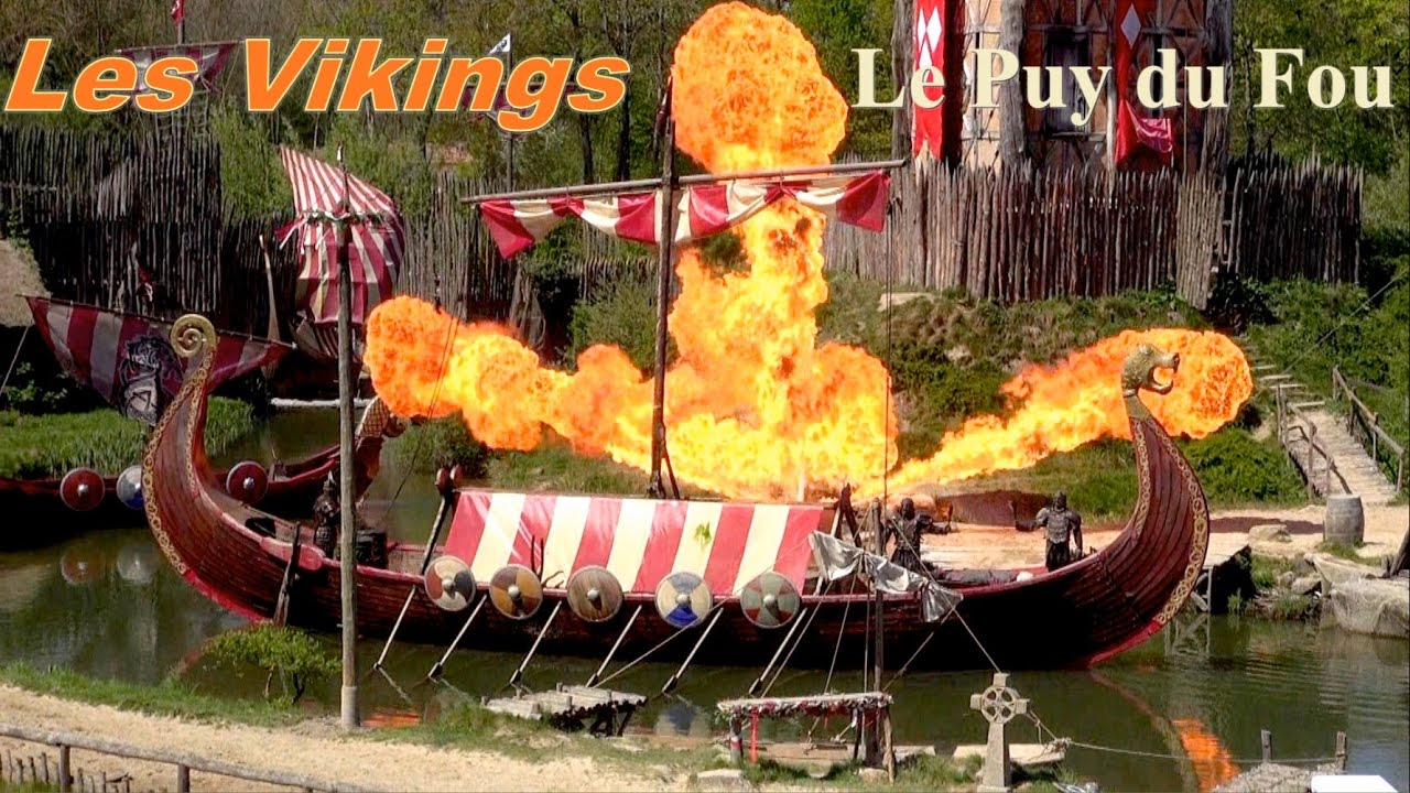 les vikings puy du fou youtube. Black Bedroom Furniture Sets. Home Design Ideas