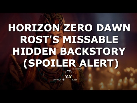 Horizon Zero Dawn™ Rost's Missable Hidden Backstory