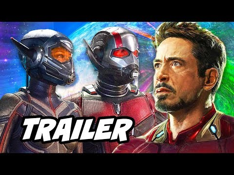 Ant Man and The Wasp Trailer and Avengers Easter Eggs Breakd