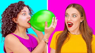 HAVE FUN WITH BALLOONS || Crazy Balloon Hacks And DIY Pranks You'll Want To Try