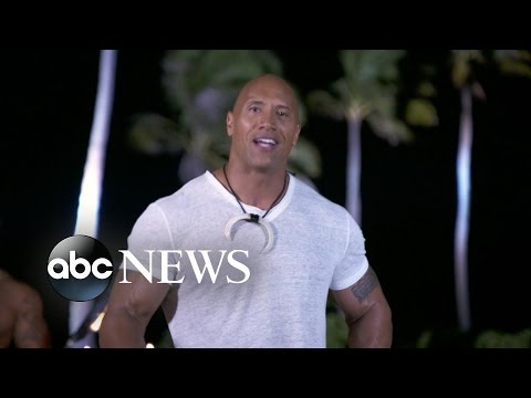 The Rock Interview | Dwayne Johnson on Moana