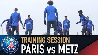 Baixar TRAINING SESSION - ENTRAINEMENTS - PARIS SAINT-GERMAIN vs METZ