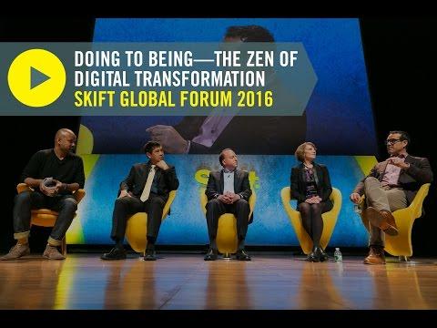 Digital Transformation Panel at Skift Global Forum 2016