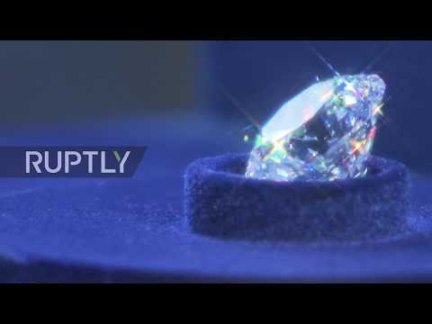 Russia: Russia's most expensive diamonds go on a dazzling display in Moscow