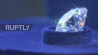 Russia  Russia's most expensive diamonds go on a dazzling display in Moscow