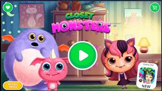 Baby Monster Care Kids Games to Play Teeth Brush Makeup Style Fun Games for Children - Game Kids Fun