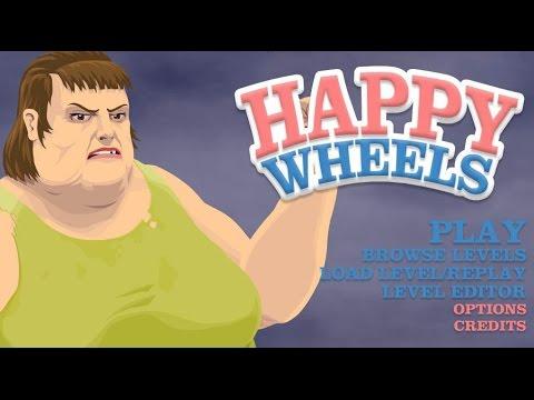 Petit Delire Sur Happy Wheels Youtube