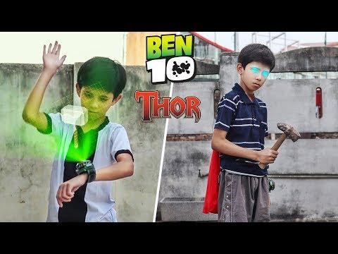 Ben 10 Transforming Into Thor | A Short Film VFX Test