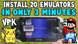 This VPK Installs 20 Emulators In 3 Minutes!