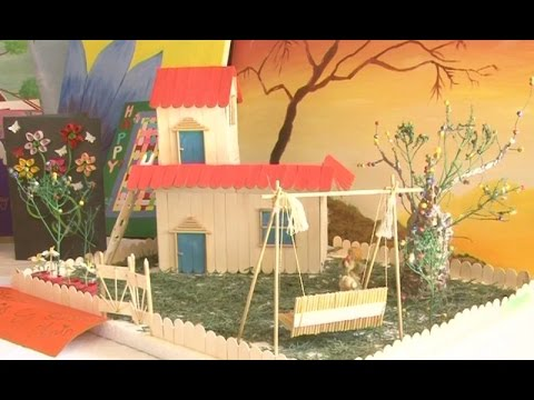 Art And Craft Exhibition In Punjab University Youtube