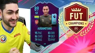 FIFA 19 POTM AUBAMEYANG in FUTCHAMPIONS WEEKEND LEAGUE !!! IS POTM AUBAMEYANG WORTH DOING ?