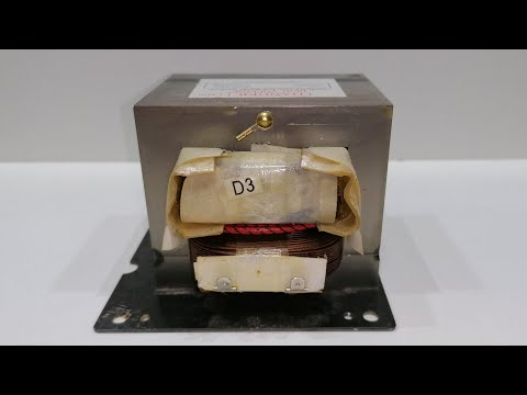 4 New Ideas using Microwave Transformer