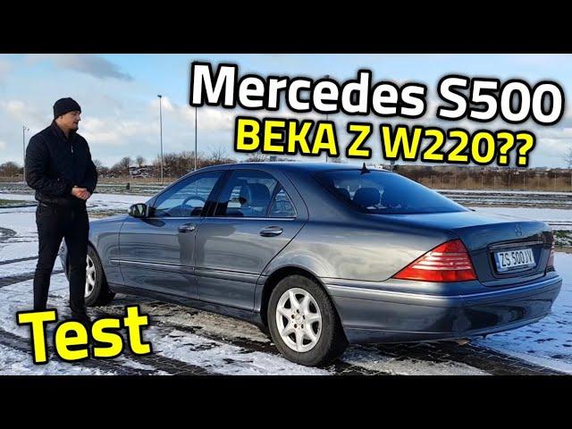 2004 Mercedes S500 W220 - Koszmar właściciela? Czy świetna limuzyna w dobrej cenie? TEST