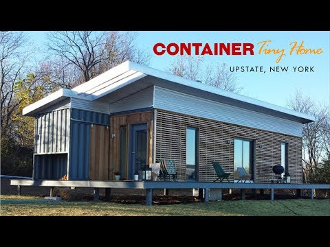 Modular Container Tiny Home in Youngsville, Upstate New York