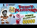 Dad plays on Bullseye's Playground 4 Charity! Target Donates $1 per Game Played 2 St. Judes Hospital