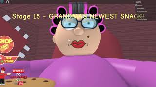 roblox grandma obby and music