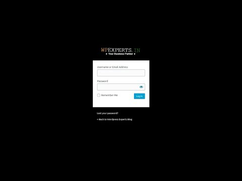 Give extra protection to your WordPress website admin