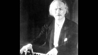 Ignacy Jan Paderewski plays Chopin Ballade No. 4 in F minor Op. 52