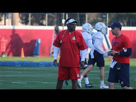 Arizona Football, Kevin Sumlin Kick Off Spring Football