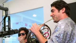 FRENCH HORN REBELLION - (live) THE RIGHT TIME - WE FOUND NEW MUSIC with GRANT OWENS