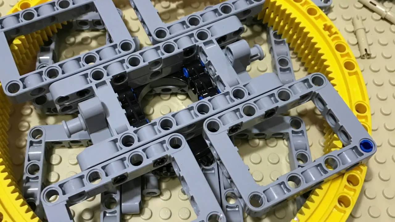 Lego technic 1x angle gear gear bearings angle Connector Toggle axle NEW