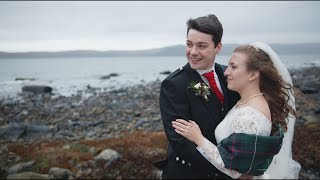 Emily & Glynn's January wedding (Crear)