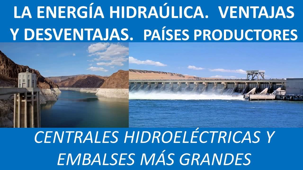 Ventajas y desventajas de la hidráulica
