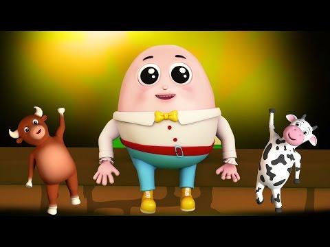 Humpty Dumpty sedeva sul muro | canzoni per bambini | Kids rhymes | Baby Music | Kids Songs