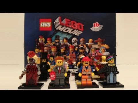 LEGO Minifigures The LEGO Movie Series Review 71004 (Complete!)
