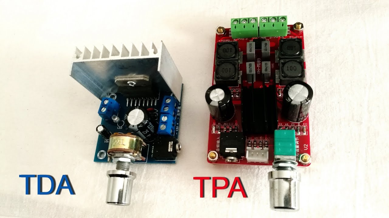 Tda 7297 Vs Tpa 3116 Amplifier Which Is Best Youtube 2x100w Class D Circuit Hip4081a 200w Power