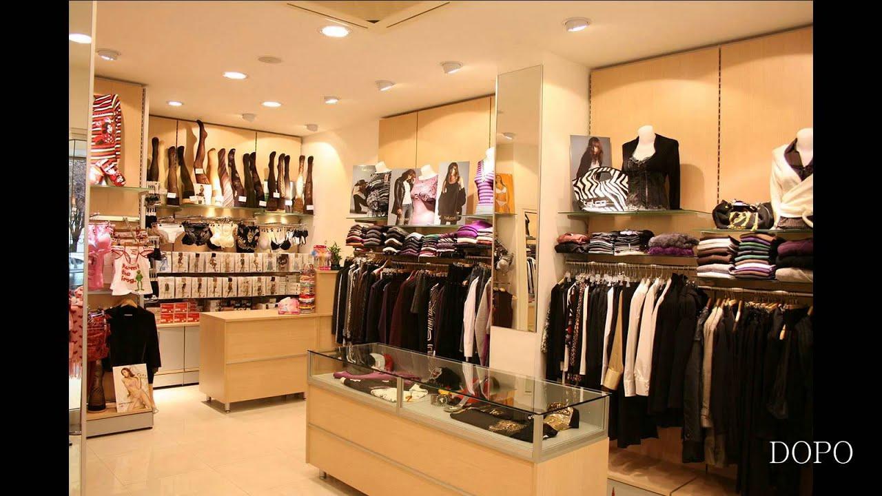 Arredamento negozio abbigliamento donna e intimo ekip arredamenti