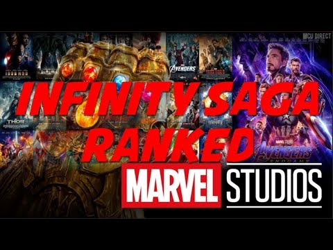 Ranking all 22 Infinity Saga MCU movies from the Worst to the Best