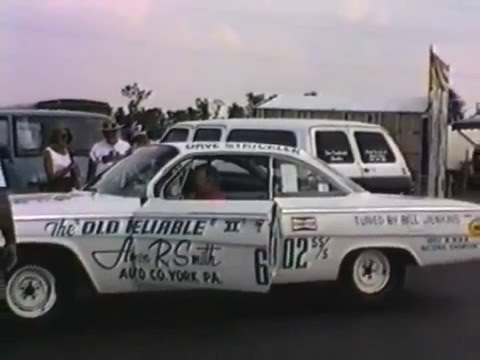 The Old Reliable 409 driven by Dave Strickler tuned by Bill Jenkins 1962 Bel Air