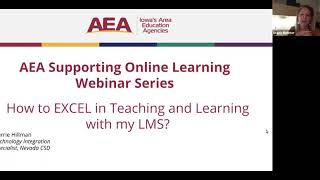 How to EXCEL in Teaching and Learning with my LMS?