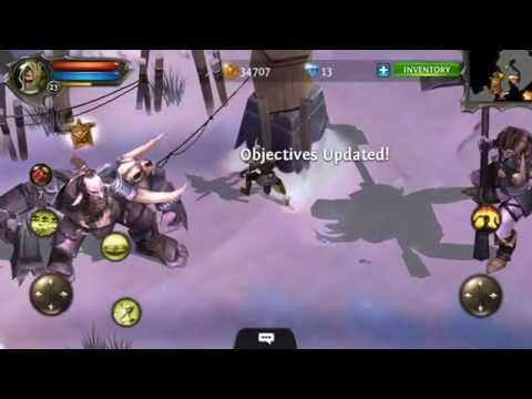 Dungeon Hunter 4 Android Gameplay Part 17 Mountain Range