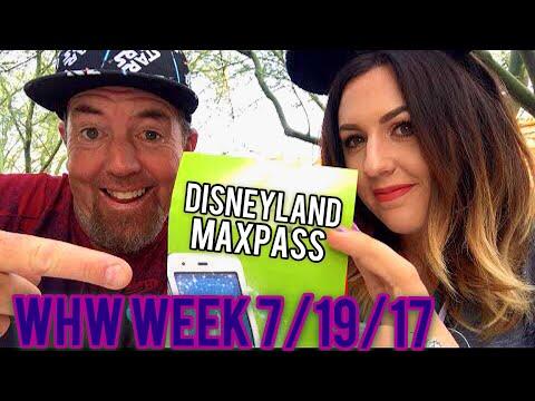 WHW! Live at Disneyland! Fantasmic, Maxpass, & D23 expo! Lets talk Disney people! Week 7/19/17