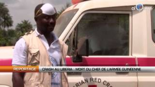 Crash au Liberia : mort du chef de l
