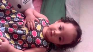 My baby raysa sing lihat kebunku